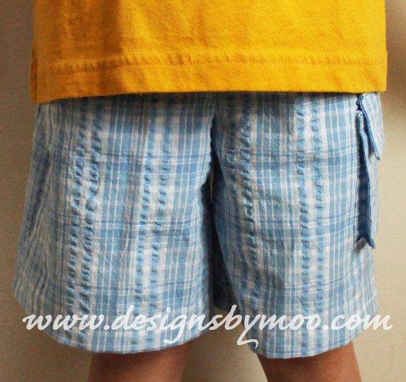 Comfy Shorts Boy\'s PDF Sewing Pattern Three by DesignsByMoo, $6.00 ...