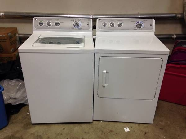 used GE washer and dryer - $400 (wolfchase) | Craigslist | Ge washer