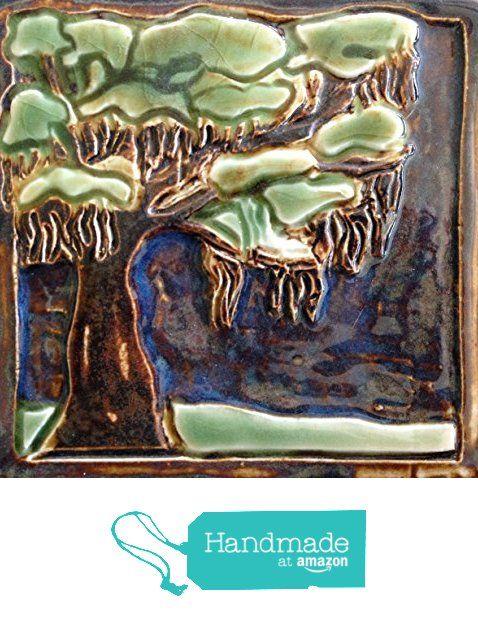 Live Oak Tile from Littoral Drift http://www.amazon.com/dp/B01D8YLVDO/ref=hnd_sw_r_pi_dp_kQD8wb18PY0MT #handmadeatamazon
