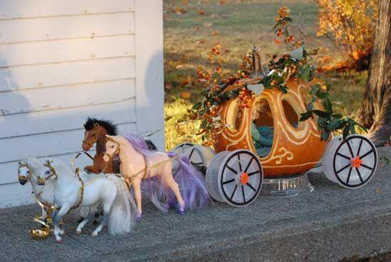 CInderella's coach pumpkin