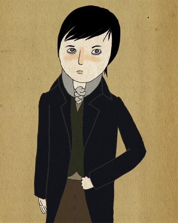 In Vain Have I Struggled. Mr. Darcy~Pride And Prejudice. Nan Lawson