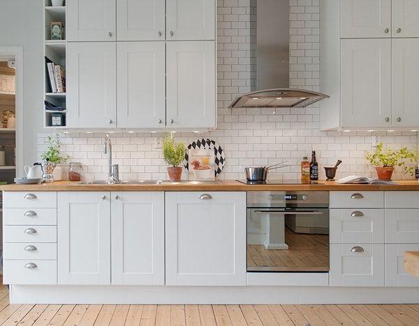 Cocinas de estilo nórdico Decoracion de cocinas Pinterest - Imagenes De Cocinas