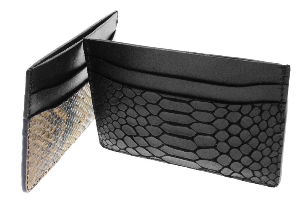 Love these card holders! Made out of real Python!