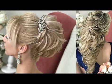 she creates fabulous wedding hairstyles    wedding