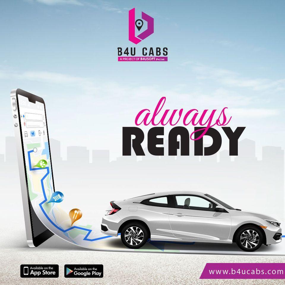 B4u Cabs Trending Car Rental Service Lahore Karachi Hyderabad In 2020 Car Rental Service Cab Cab App