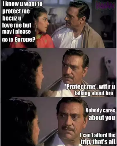 Cant Afford Hindi Movie Funny Meme Memes, Funny movies