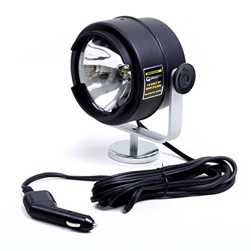 Brinkmann Qbeam 12volt Dc Spotflood Light With Magnetic Base Click Image For More Details Flood Lights Camping Lamp Lighting Solutions