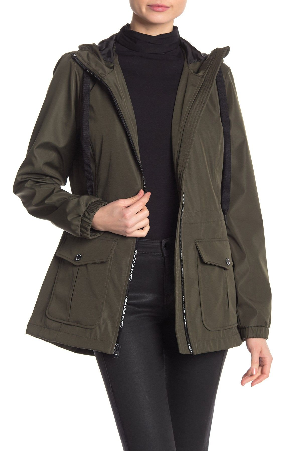 9bf47305a4e Missy Taping Zip Front Jacket by MICHAEL Michael Kors on @nordstrom_rack