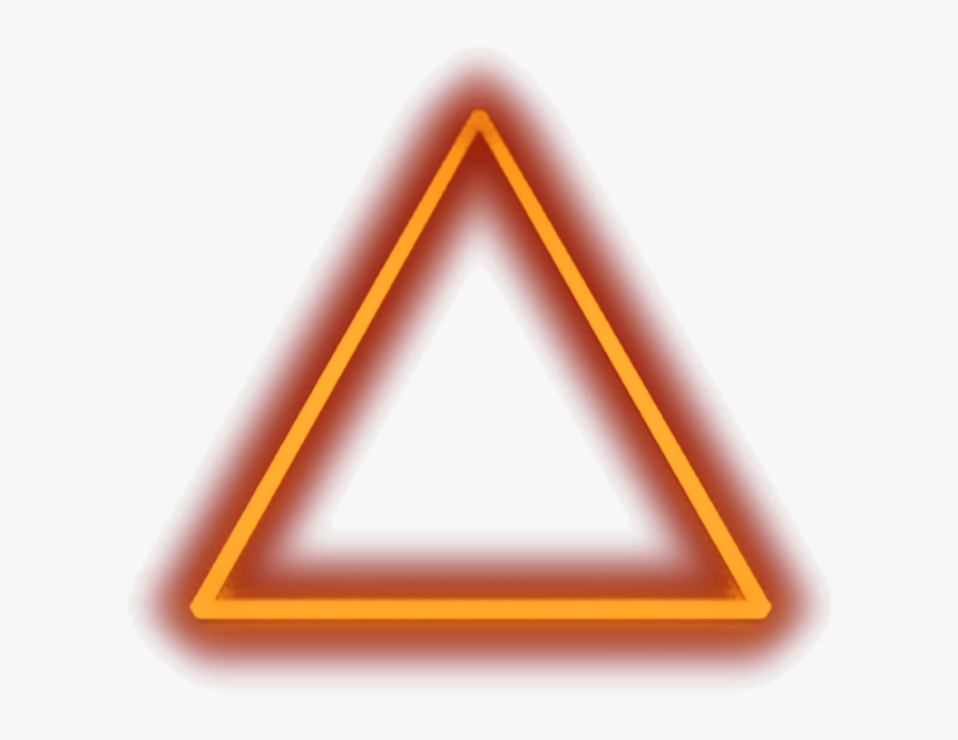 Neon Triangle Neon Orange Transparent Triangle Hd Png Download Is Free Transparent Png Image To Explore More Similar Hd Image O Neon Neon Orange Triangle