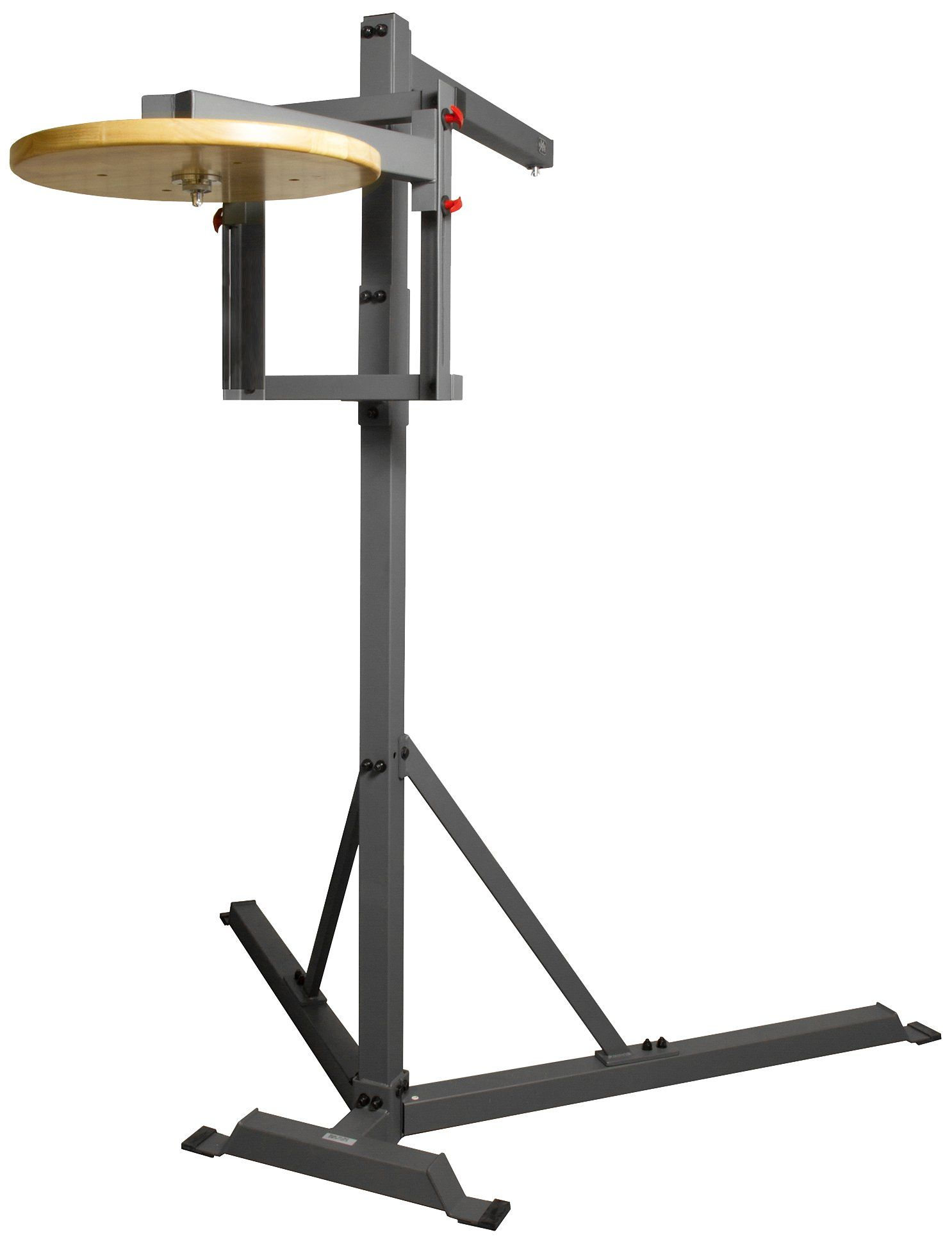 XMark Commercial Heavy Bag Stand with Speed Bag Platform