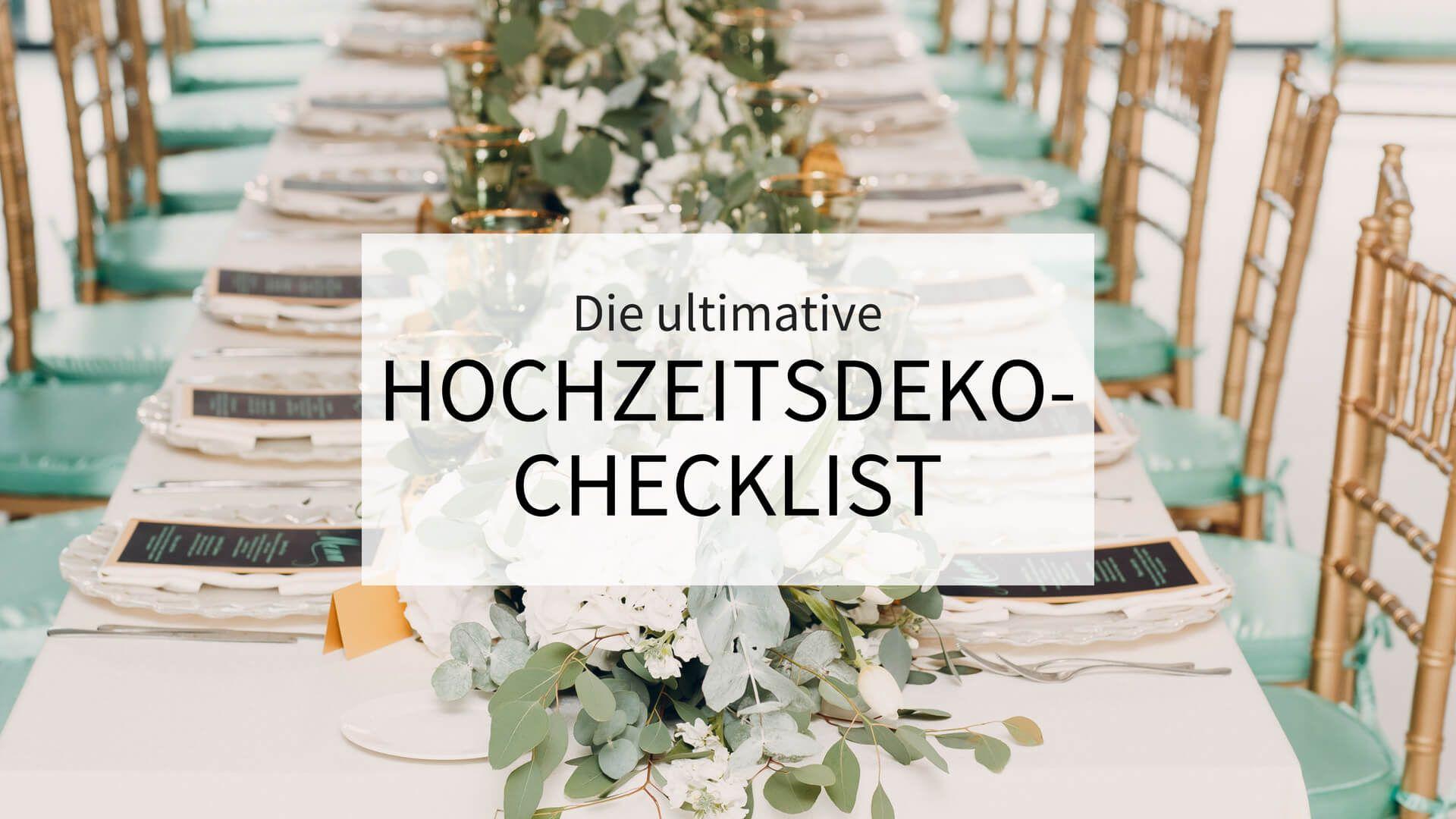 Photo of La migliore lista di controllo per decorazioni di nozze   Download gratuito – scatola di nozze