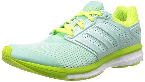 chaussures de sport b4159 19052 adidas Supernova Glide Boost 7 Ladies Running Shoe Green ...
