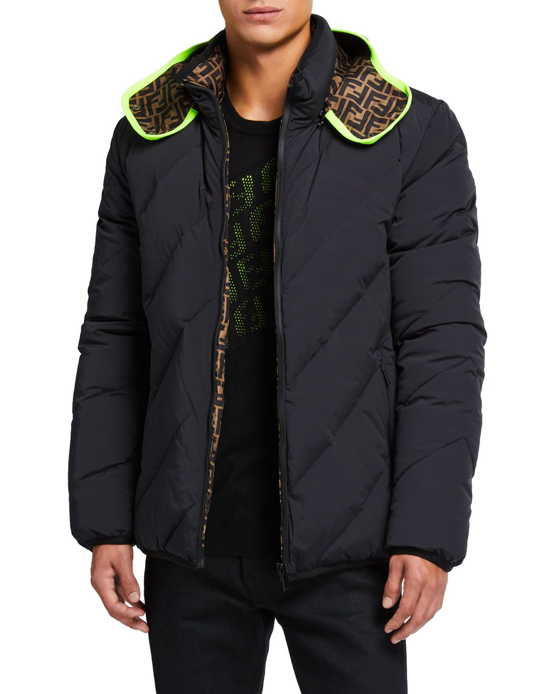 Fendi Men S Reversible Quilted Puffer Jacket Fendi Cloth Quilted Puffer Jacket Puffer Jackets Jackets [ 1500 x 1200 Pixel ]