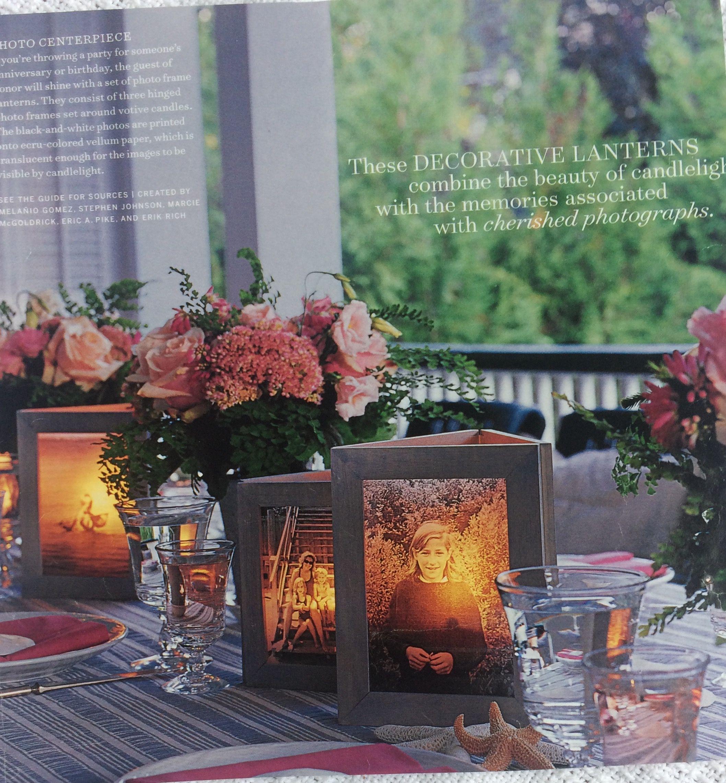 Pin von Laurie Jackson auf Decorating table tops | Pinterest