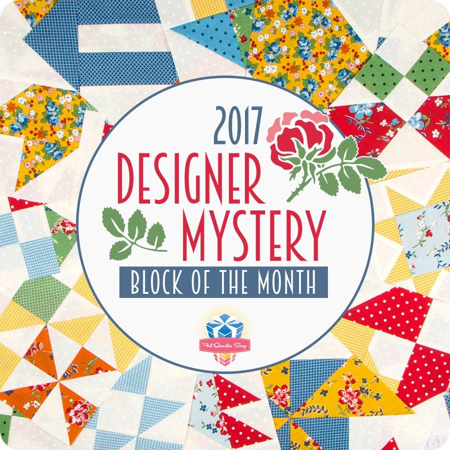 2017 Designer Mystery Block of the Month Monthly Blocks<BR>Fat ... : quilt program - Adamdwight.com