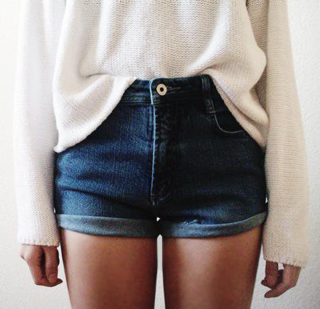 white & denim <3