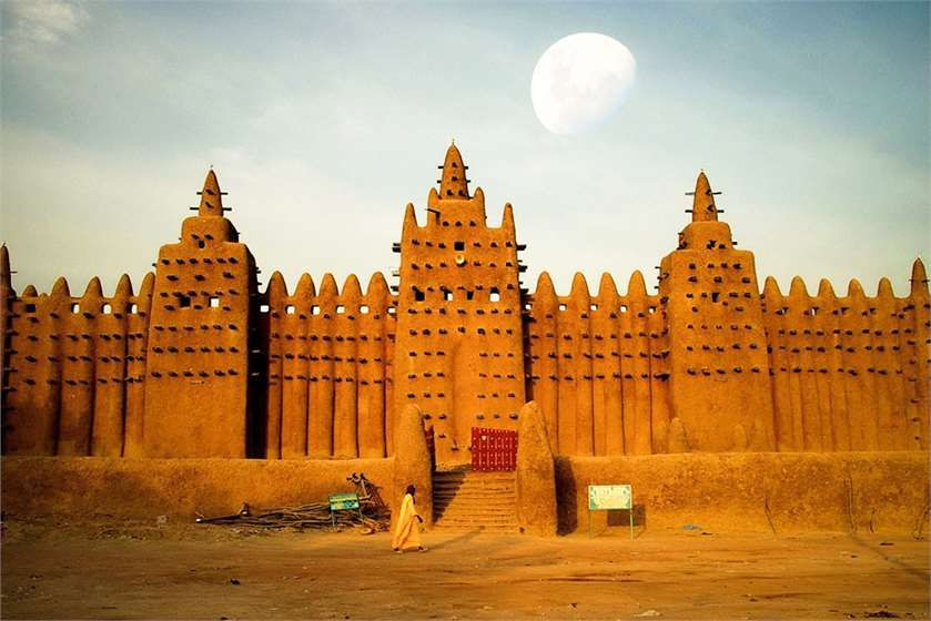 Mali Country Resides In The Continent Of Africa And Is A Beautiful Sight To Watch Know Mo Beautiful Places In The World World Heritage Sites Ghana Empire