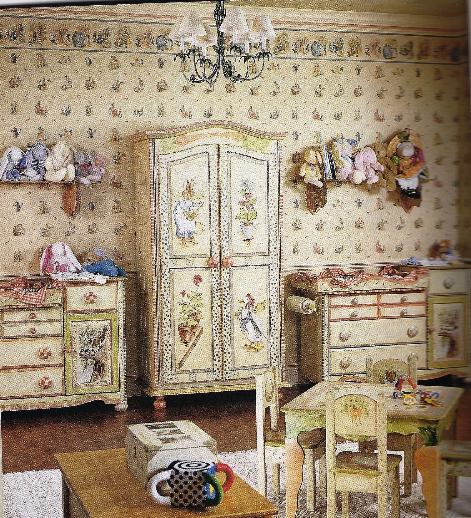 Spectacular Beatrix Potter Themed Nursery