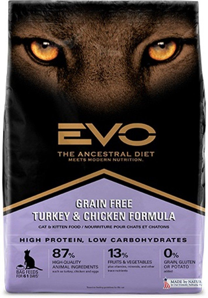 Evo Turkey And Chicken Cat And Kitten Food 15 4 Lb Startling Review Available Here Best Cat Food Cat Food Brands Kitten Food Chicken Cat