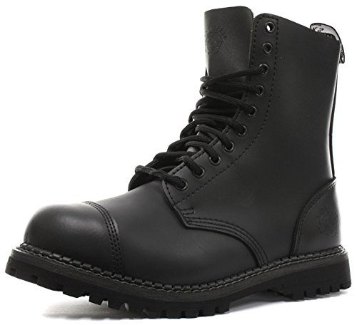 Grinders Stag 2015 Matte Finish Womens Safety Steel Toe Boots All Sizes