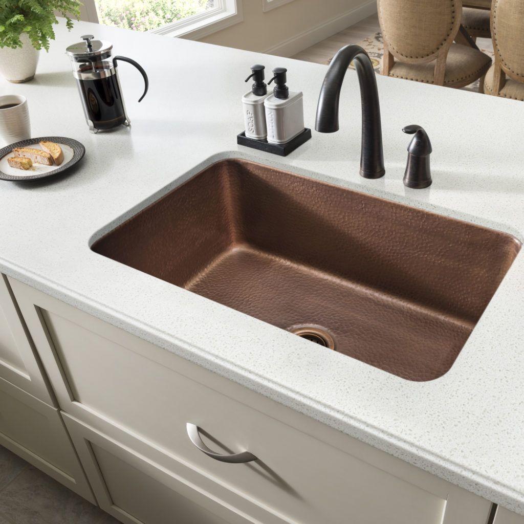 product image Copper kitchen sink, Single bowl kitchen