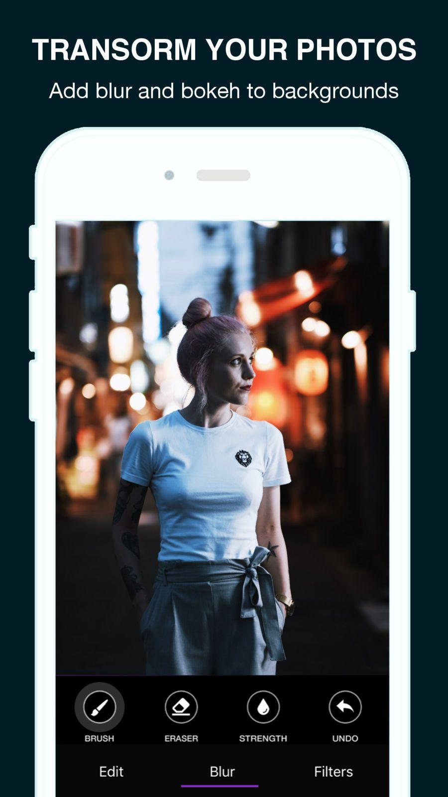 Blur photo background editor freefunappsvideo