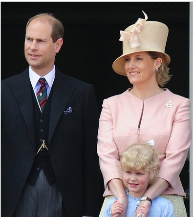 The youngest son of Queen Elizabeth II, Prince Edward