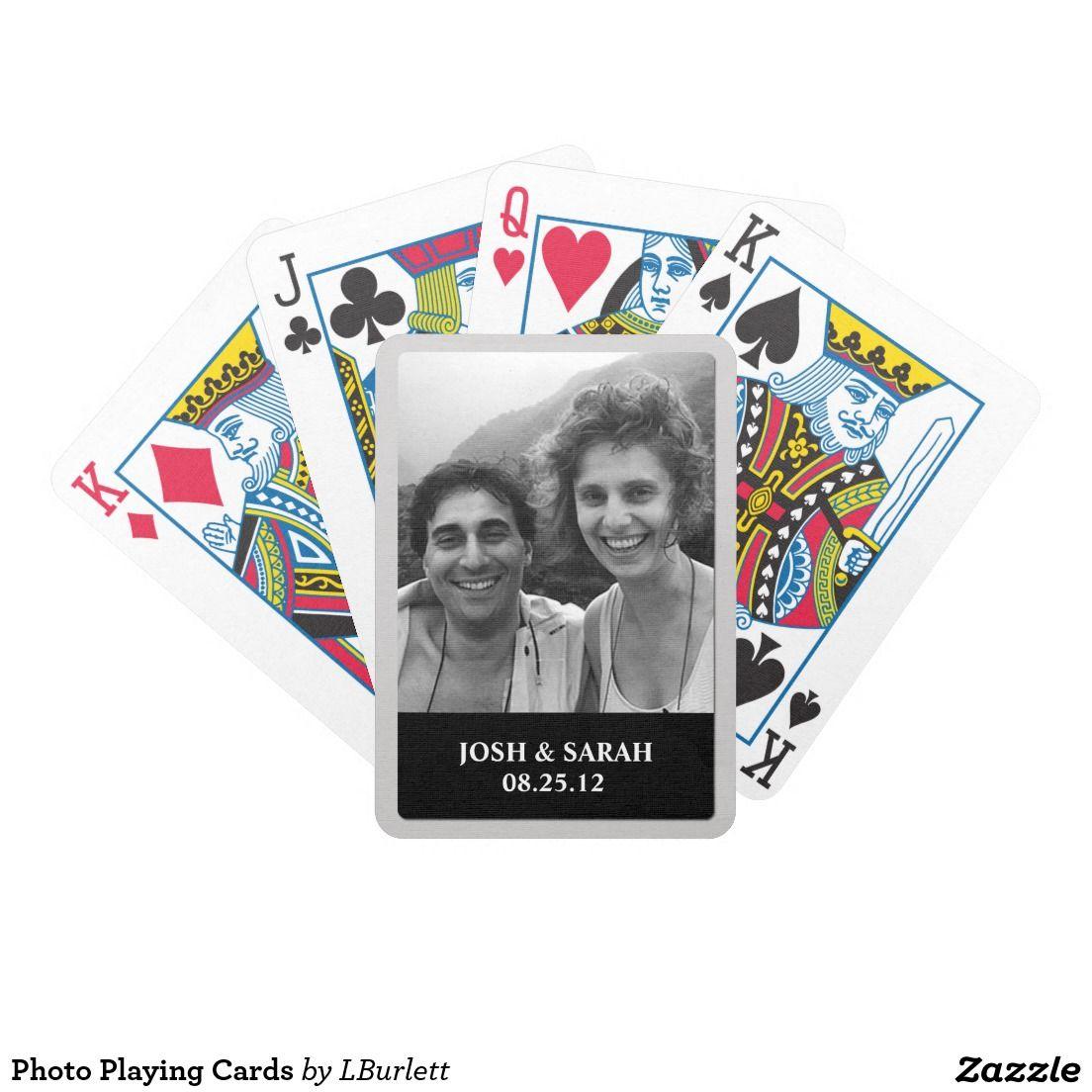 Photo Playing Cards   wedding favor stickers & Wedding Tag & Wedding ...
