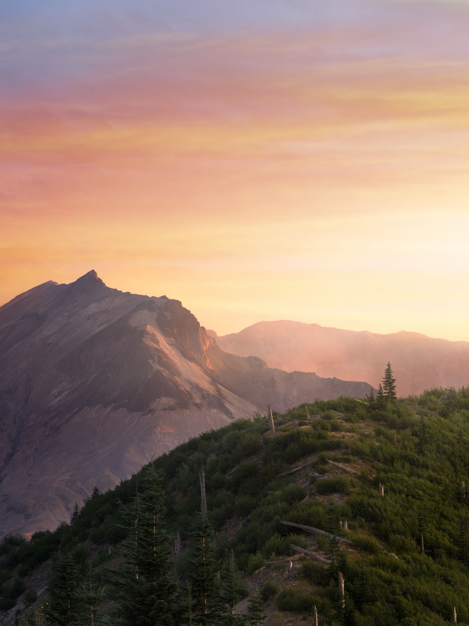 Mount St. Helens sunset by Jens Böhme on 500px