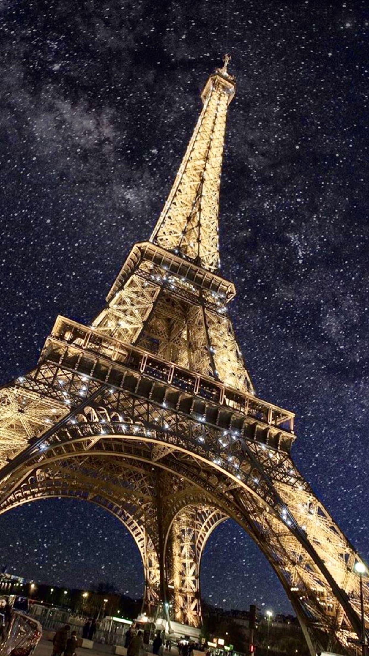 Обои ночной париж. Города foto 11