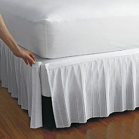 Detachable Wrinkle Free Bedskirt Bedskirt Company Store Bedding Decor
