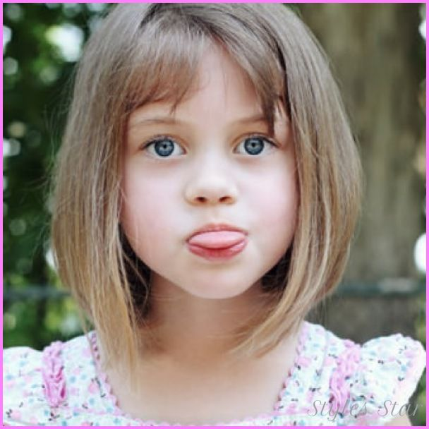 Cool Little Girls Haircuts With Bangs