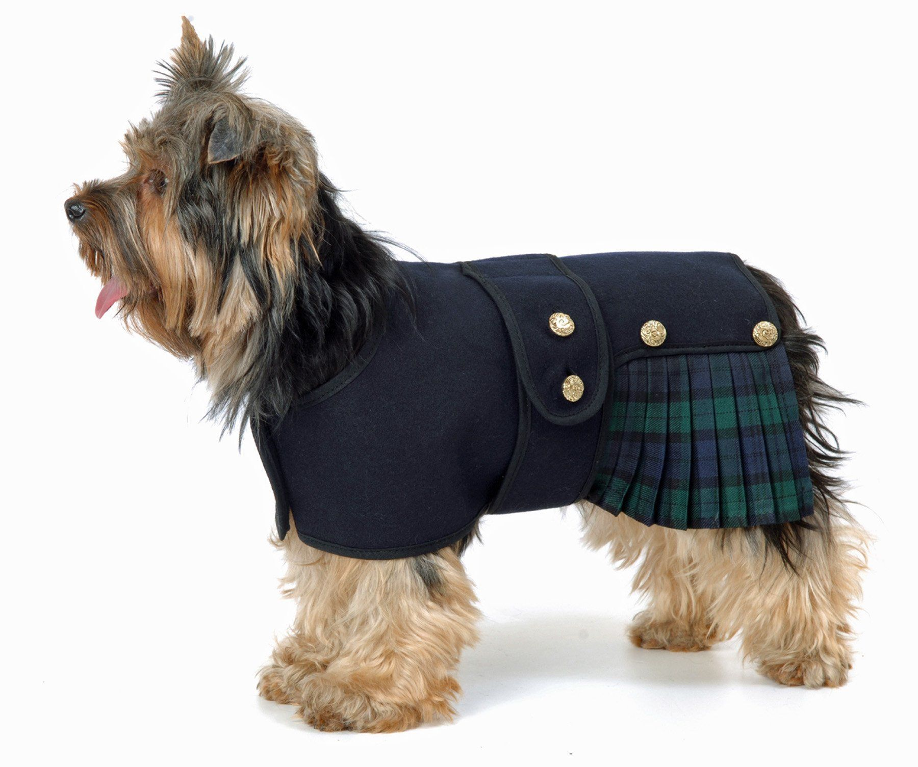 Robot Check Tartan Dog Dog Jacket Dog Coats [ 1505 x 1800 Pixel ]