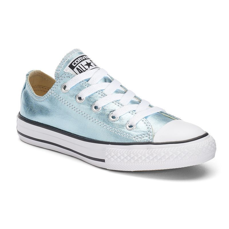 Kid's Converse Chuck Taylor All Star Metallic Shoes, Size: