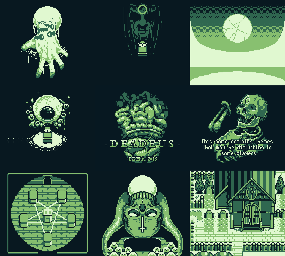 Some Pixel Art That I Ve Been Working On Whilst Making My First Gameboy Game Pixelart Pixel Art Characters Pixel Art Pixel Art Design