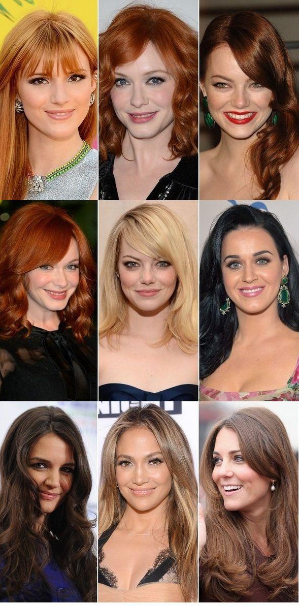 Celebrity Hair Color Ideas For Spring Summer 2013 Springsummer