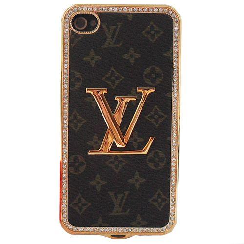 73b958179080 Louis Vuitton iPhone 4 Case iPhone 4S Case Monogram Brown