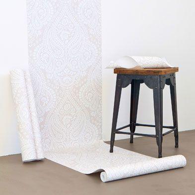 Zara papel ointado paisley 30e soluci n antigotel poner for Papel pintado especial para gotele