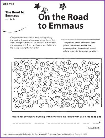 17 best images about Bible: Road to Emmaus on Pinterest