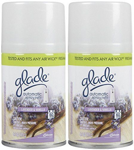 Glade Automatic Spray Refill Lavender Vanilla 6 2 Oz 2 Pack