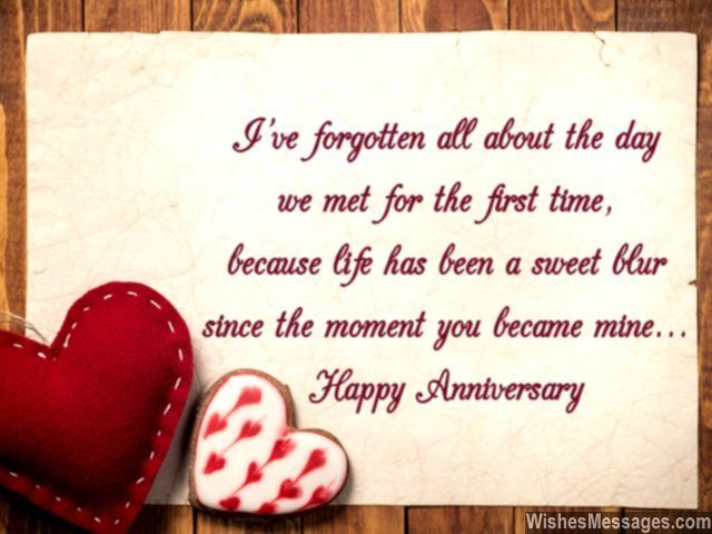 Anniversary Quotes For Girlfriend Best Happyanniversarygreetingcardwishesmessageforher640X480 . Inspiration Design
