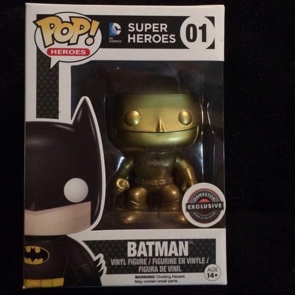 Gold 1989 Batman Funko Pop Rare Gamestop Black Friday