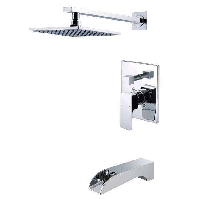 Bathtub and shower faucet | RONA | For the Home | Pinterest | Shower ...
