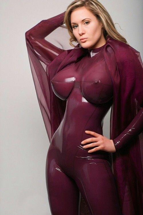 latex dress sexig