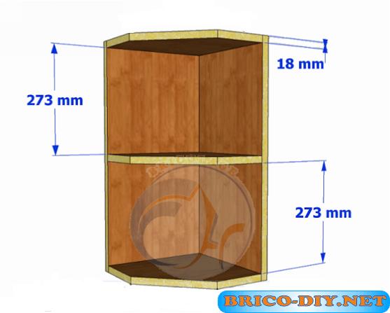 Brico web donde aprenderas bricolaje decoraci n Planos de gabinetes de cocina gratis