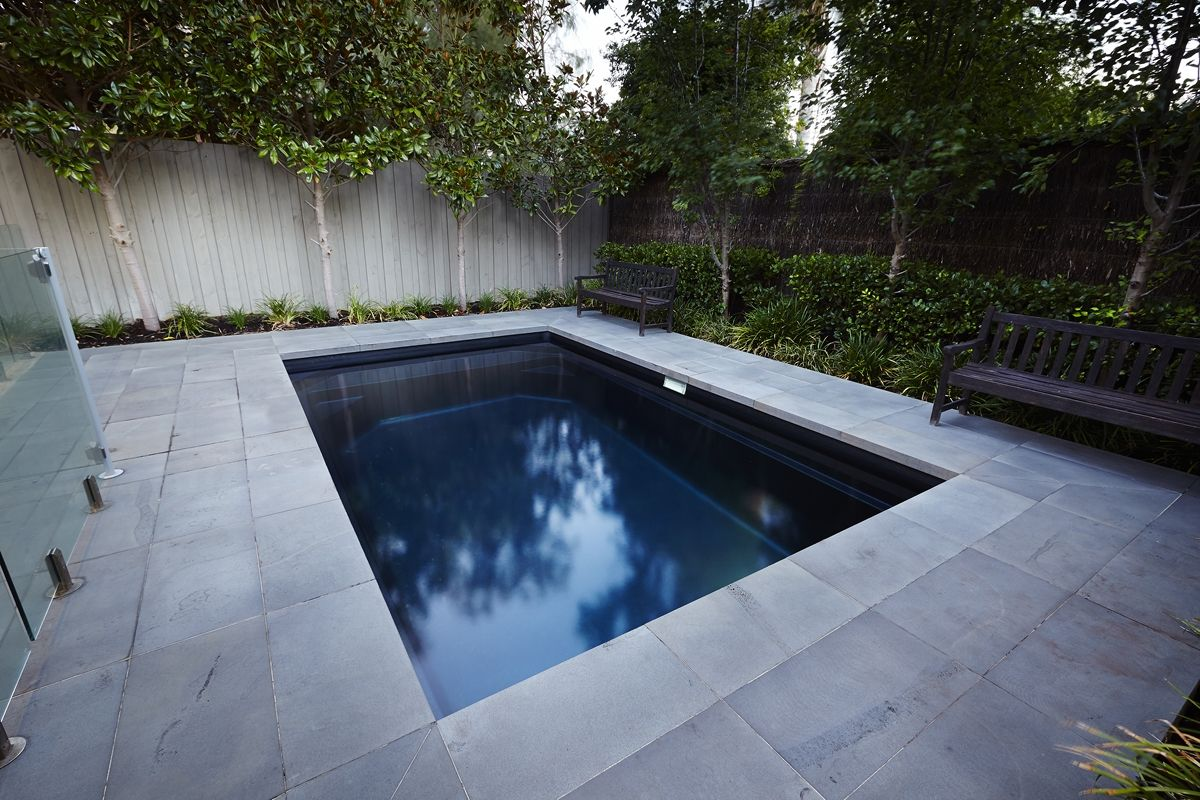 4 7m Plunge Pool Midnight Shimmer Barrier Reef Pools