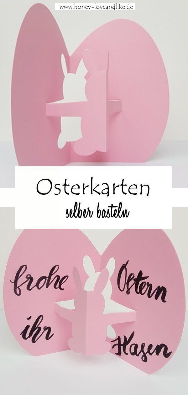 Photo of Schnelle Osterkarten in 10 Minuten basteln – Frohe Ostern ihr Hasen