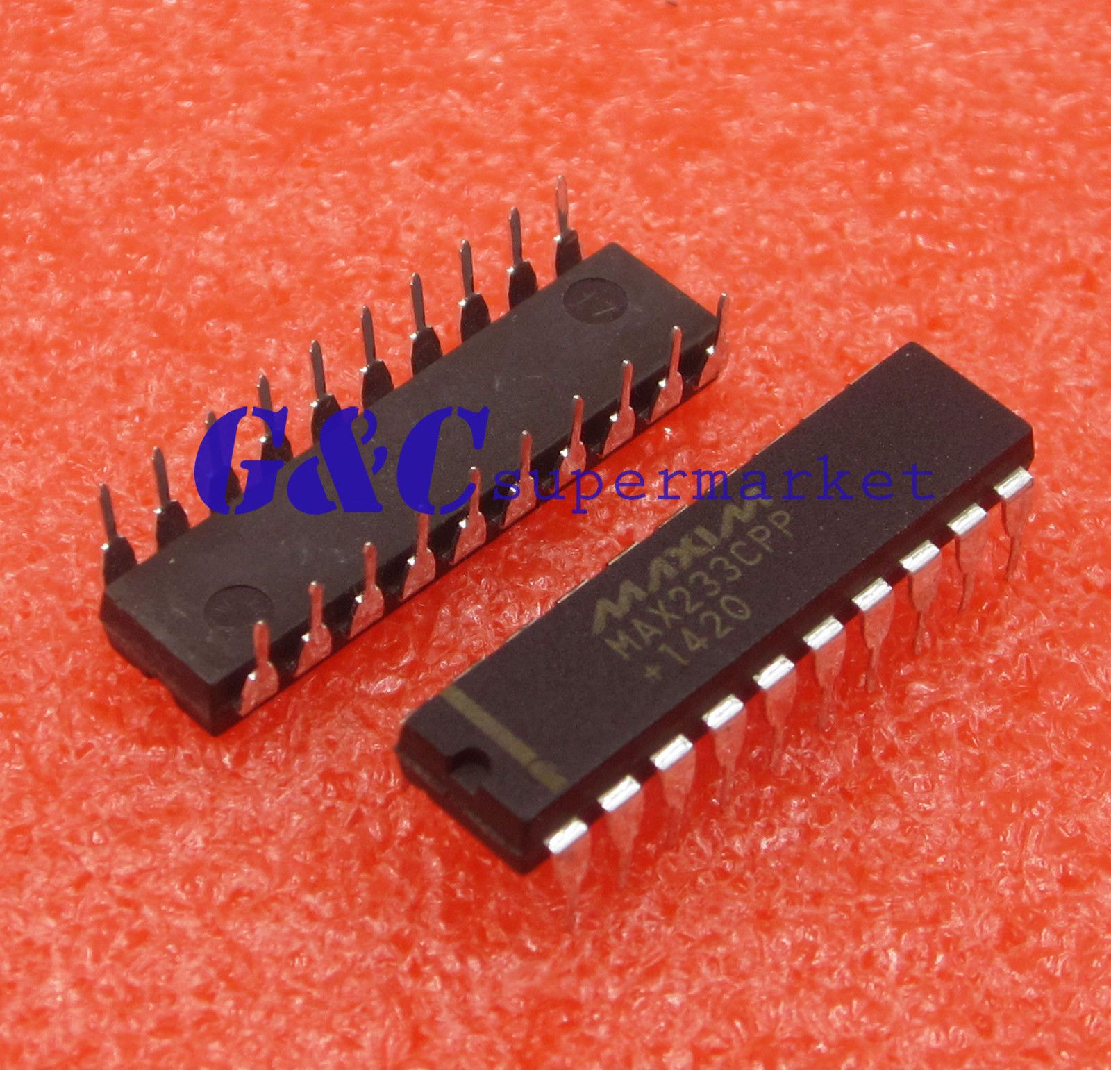 5pcs MAX233CPP MAX233 RS-232 Drivers//Receivers