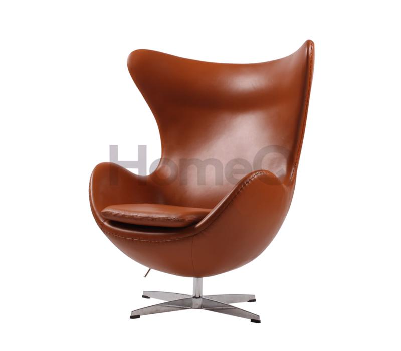 Egg Chair Aniline Leather Egg chair, Chair, Retro furniture