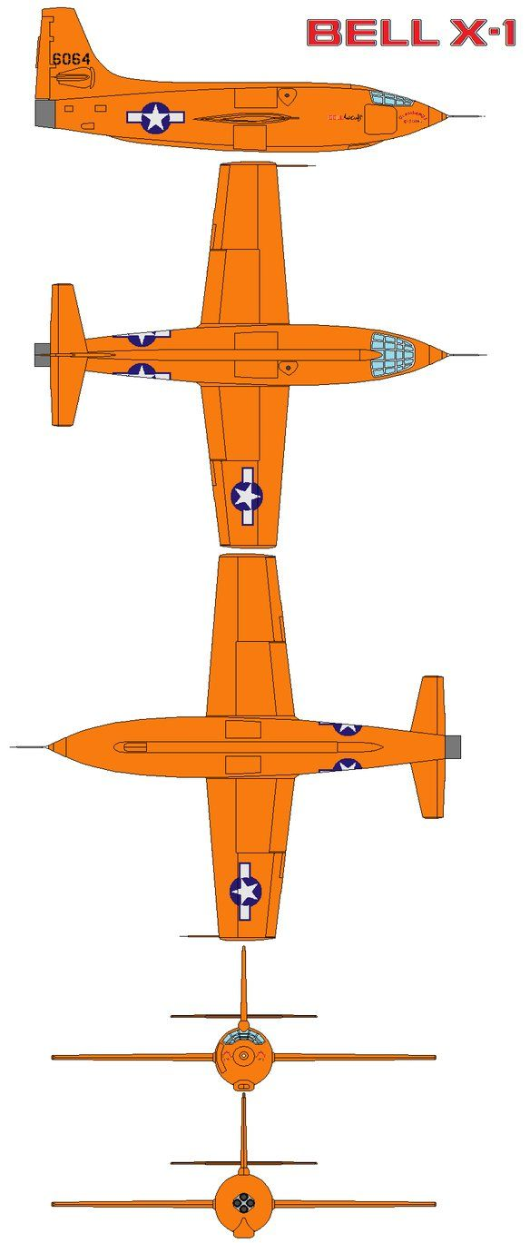 The Bell X-1, originally designated XS-1, was a joint NACA-U.S. Army Air Forces/US Air Force supersonic research project and the first aircraft to exceed the speed of sound in controlled, level fli...